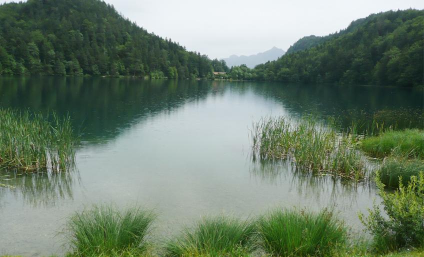 Zwei Seen Blick Runde